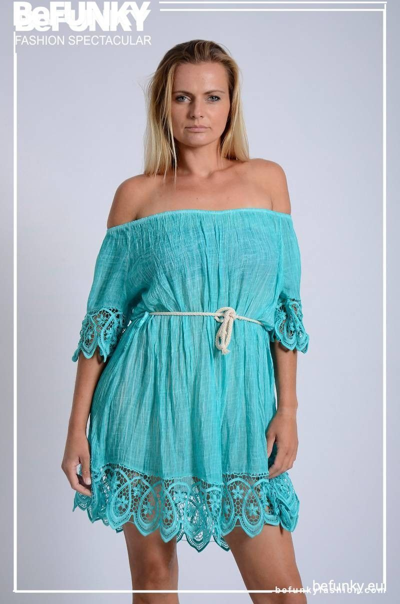 Sleeve and Lace Dress