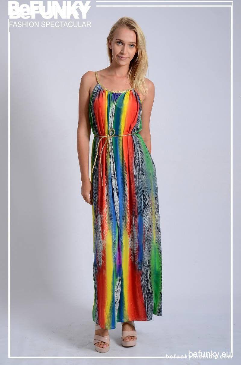 Vestido Arcoiris Dorado