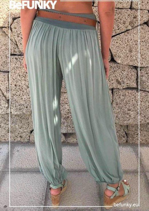 Pantalon con cinturón