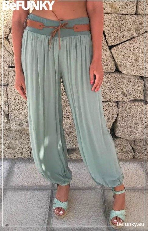 Belted Hareem Trousers