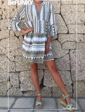 'Paula' Boho Tunic Dress