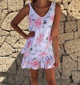 Short flower dress